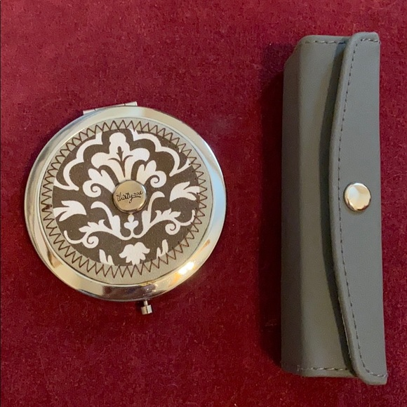 New Purse Compact Mirror & mirrored lipstick case